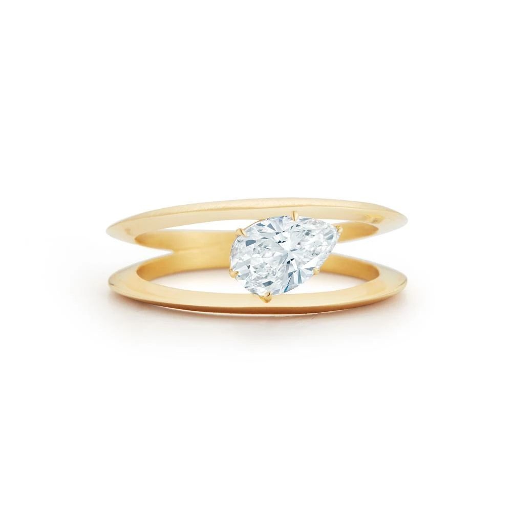 Jade Trau Sadie Solitaire Ring