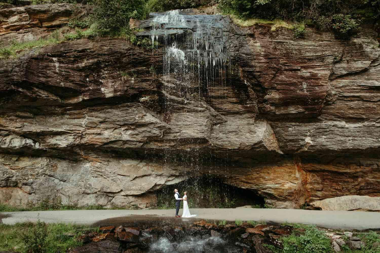 highlands north carolina secret waters elopement