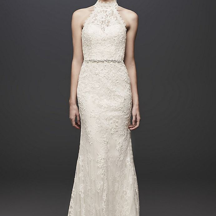 High Neck Wedding Dresses 46 Elegant Options For Every Style