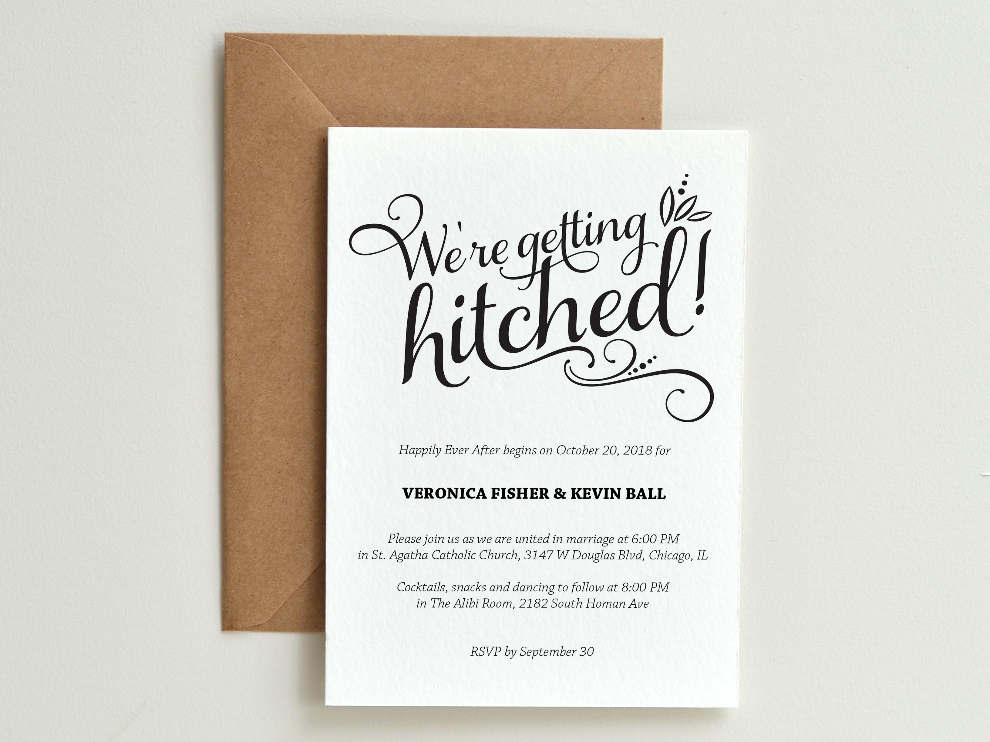 9 Funny Wedding Invitations Perfect For Every Sense Of Humor