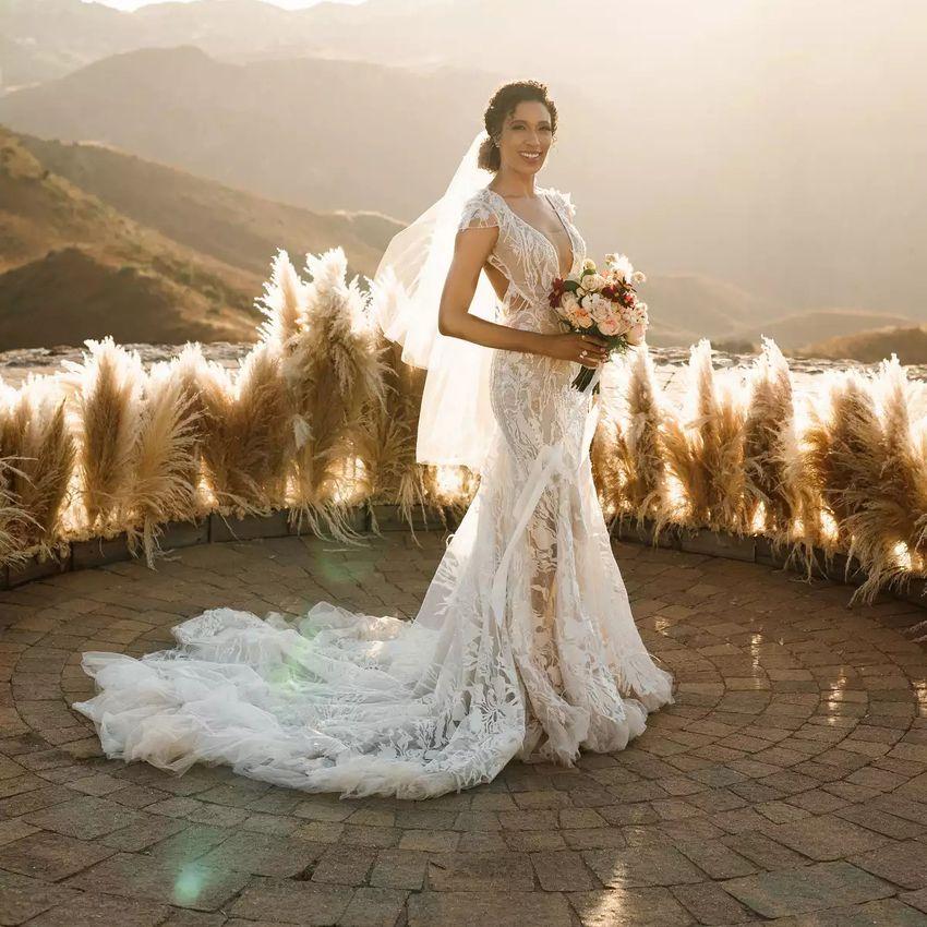 trumpet wedding dress