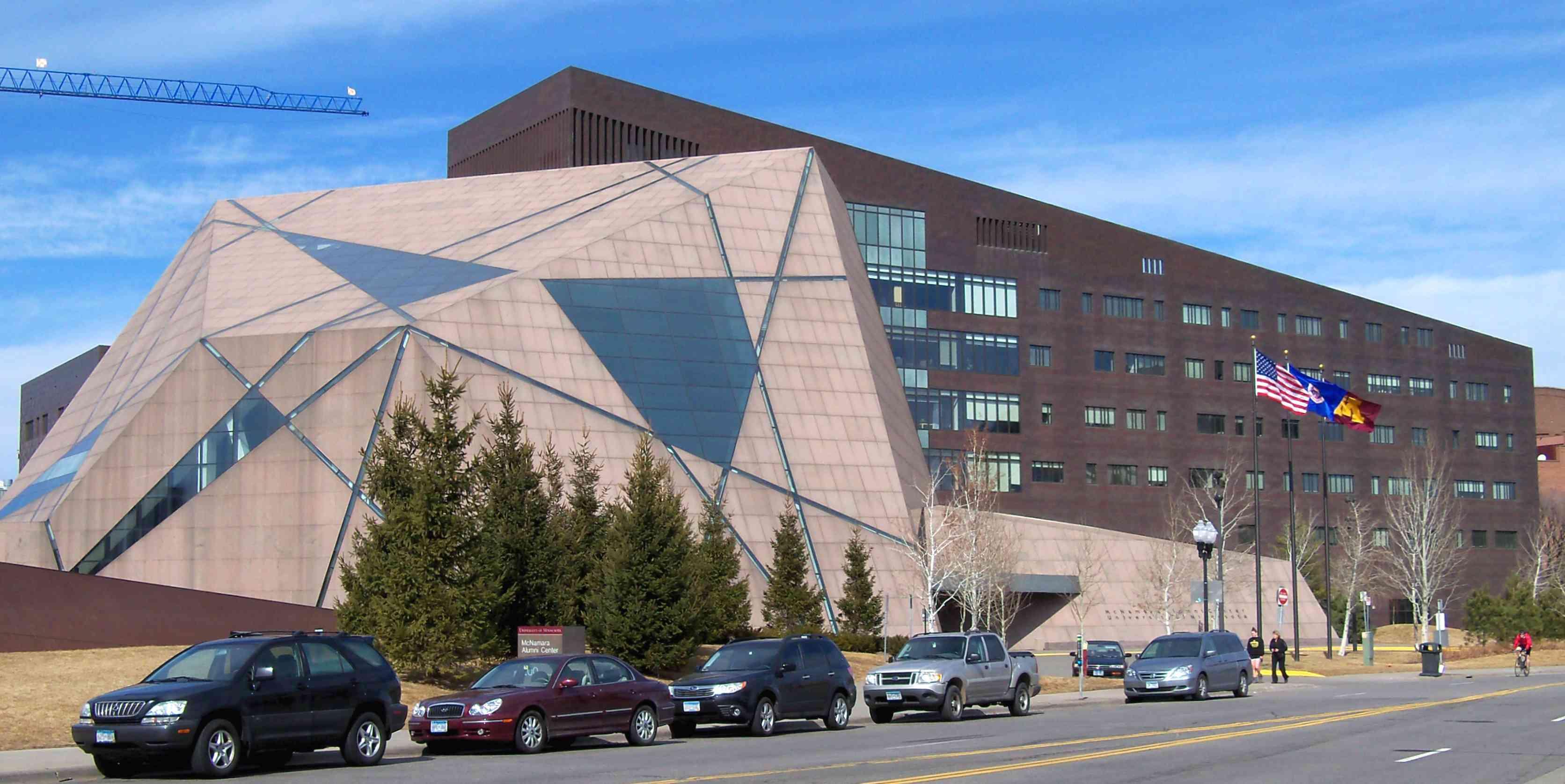 McNamara Alumni Center in Minneapolis