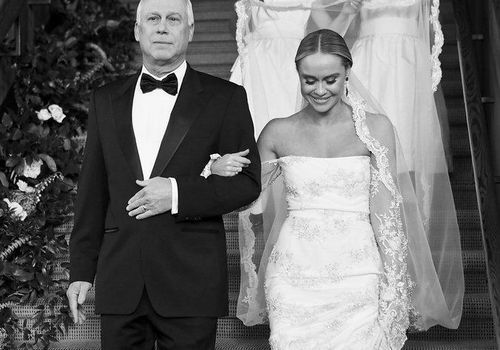 Becca Tobin Walking Down the Aisle