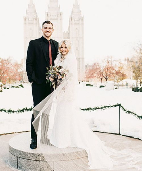 Lindsay Arnold Wedding.Dwts Pro Witney Carson And Her Husband Carson Mcallister Have A New