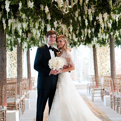 Ivanka Trump Wedding.Tbt Inside Ivanka Trump And Jared Kushner S Over The Top Wedding Day