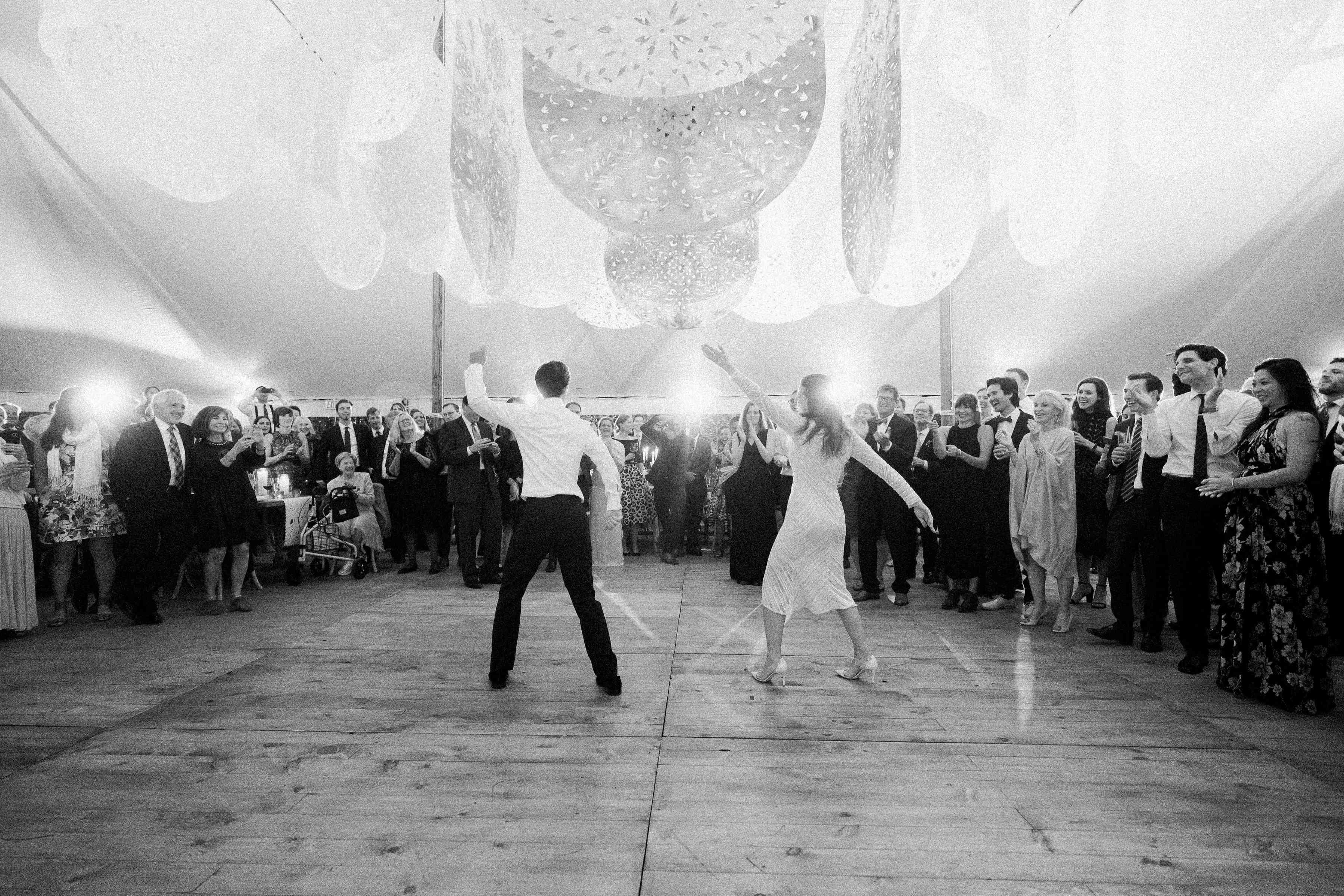 surprise dance