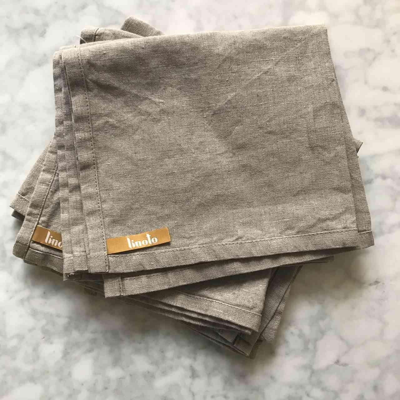 Linoto House Helper Treeless Linen Towels