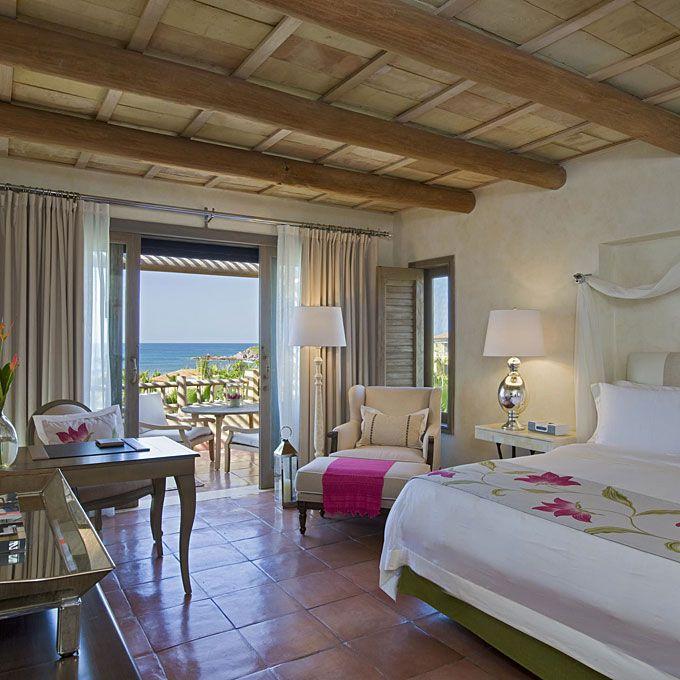 A guest room at St. Regis Punta Mita Resort.