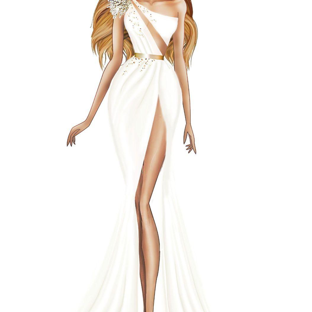 Julie Vino Bridal Fashion Week Fall 2020 Sketch