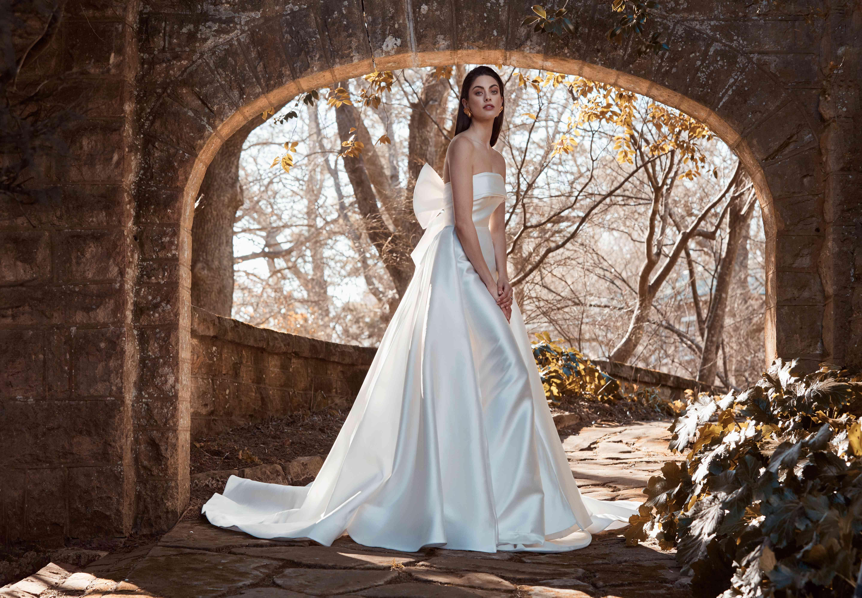 Delaney wedding overskirt