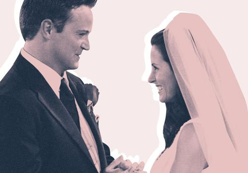 Monica and Chandler wedding on Friends.