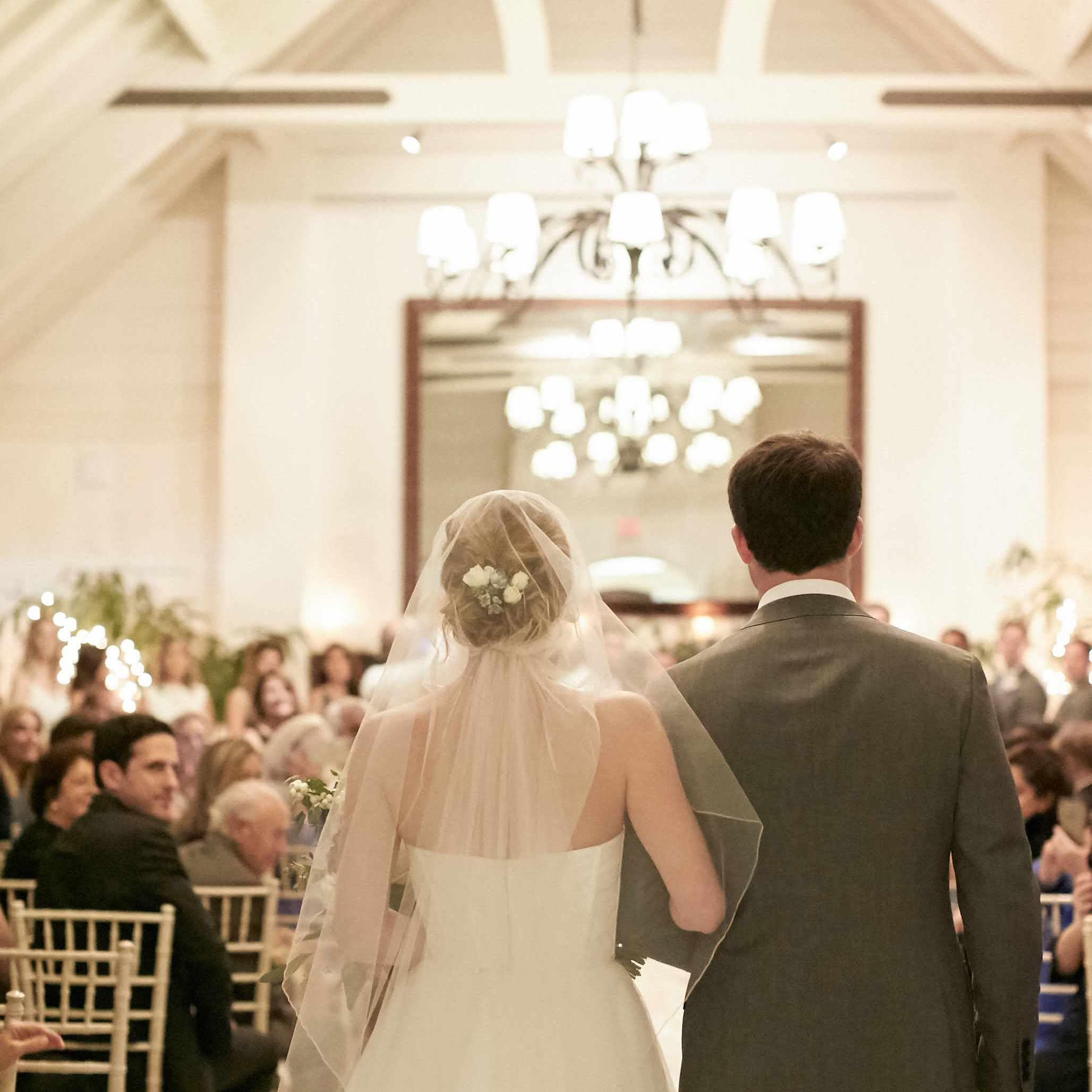 <p>Bride Walking Down the Aisle</p><br><br>