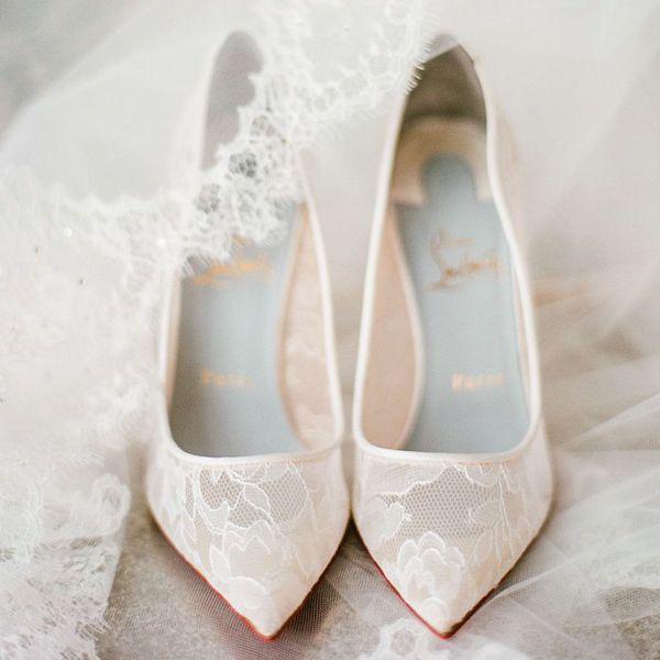 lace wedding shoes