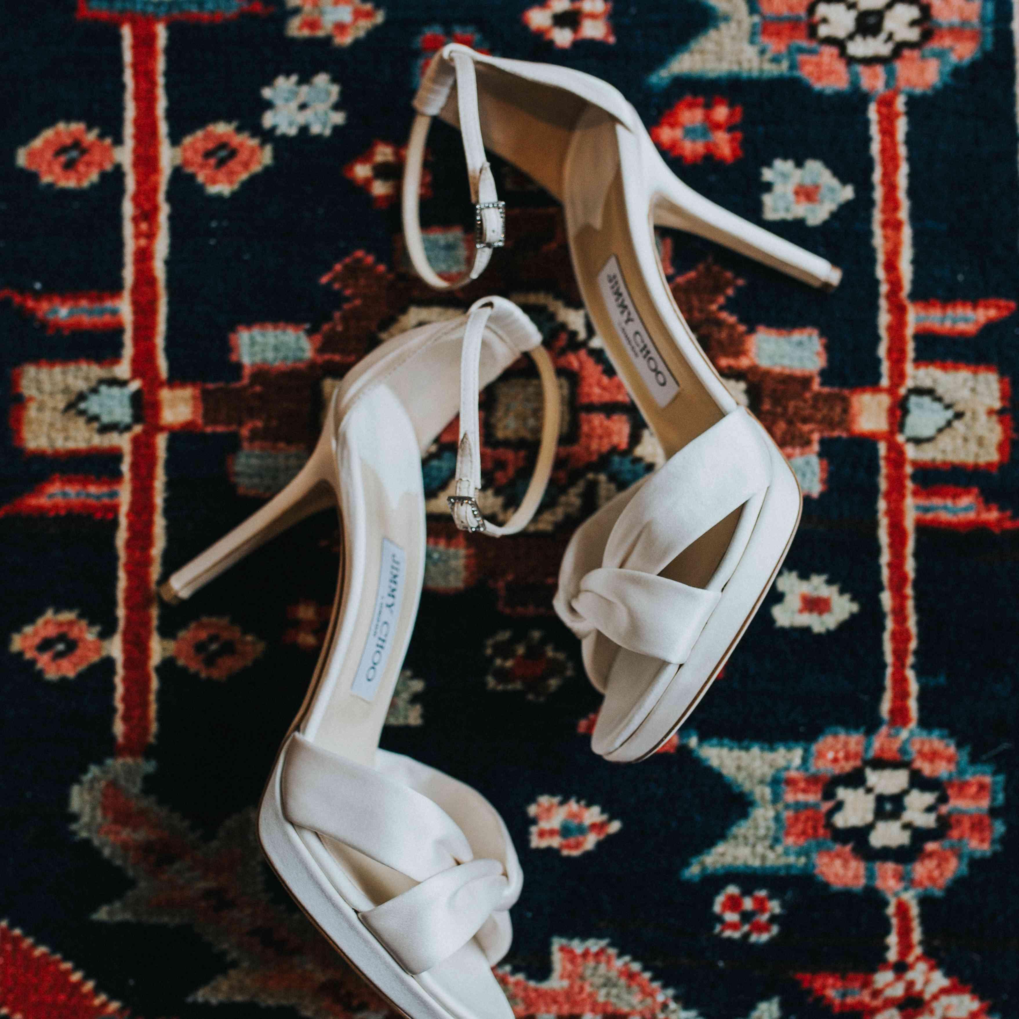 Jimmy Choo Satin Sandals