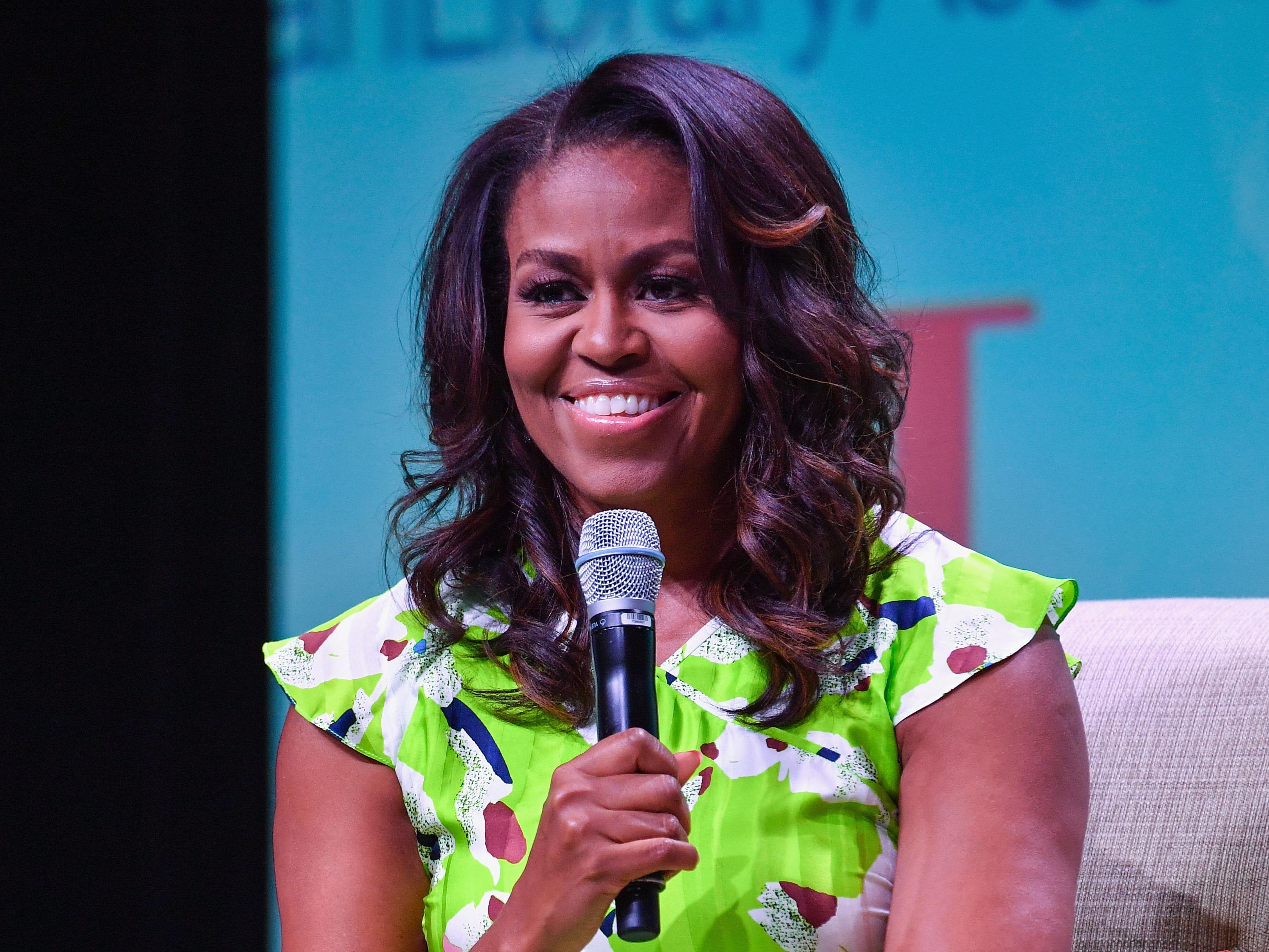 Michelle Obama Got A Stunning Engagement Ring Upgrade