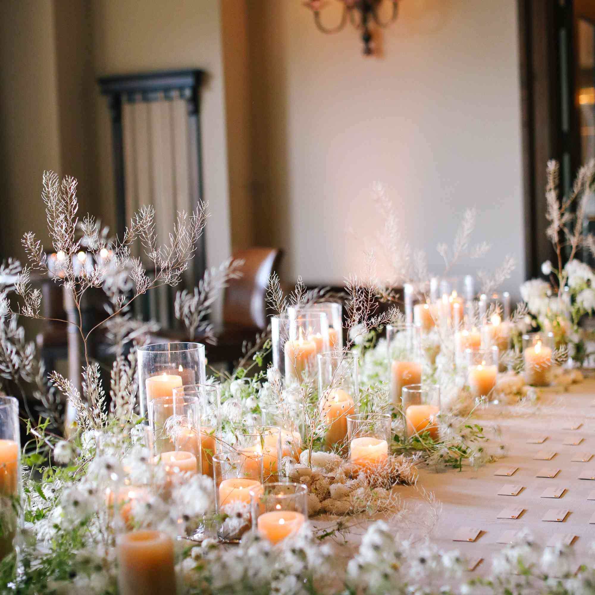 savannah and riker wedding, escort card display