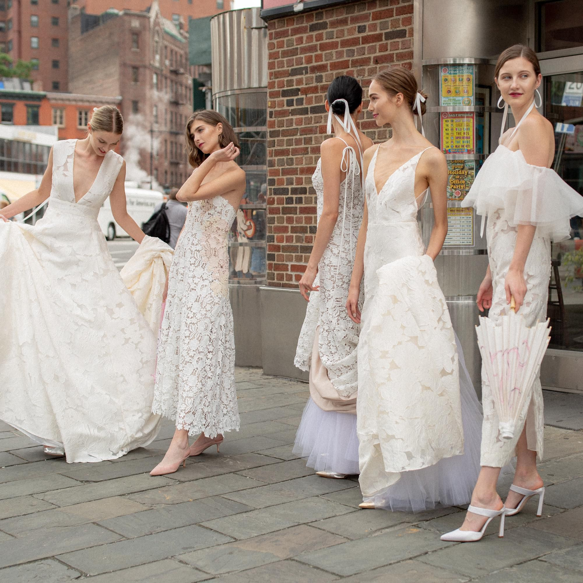 11 Fall 2019 Wedding Dress Trends You Have to See