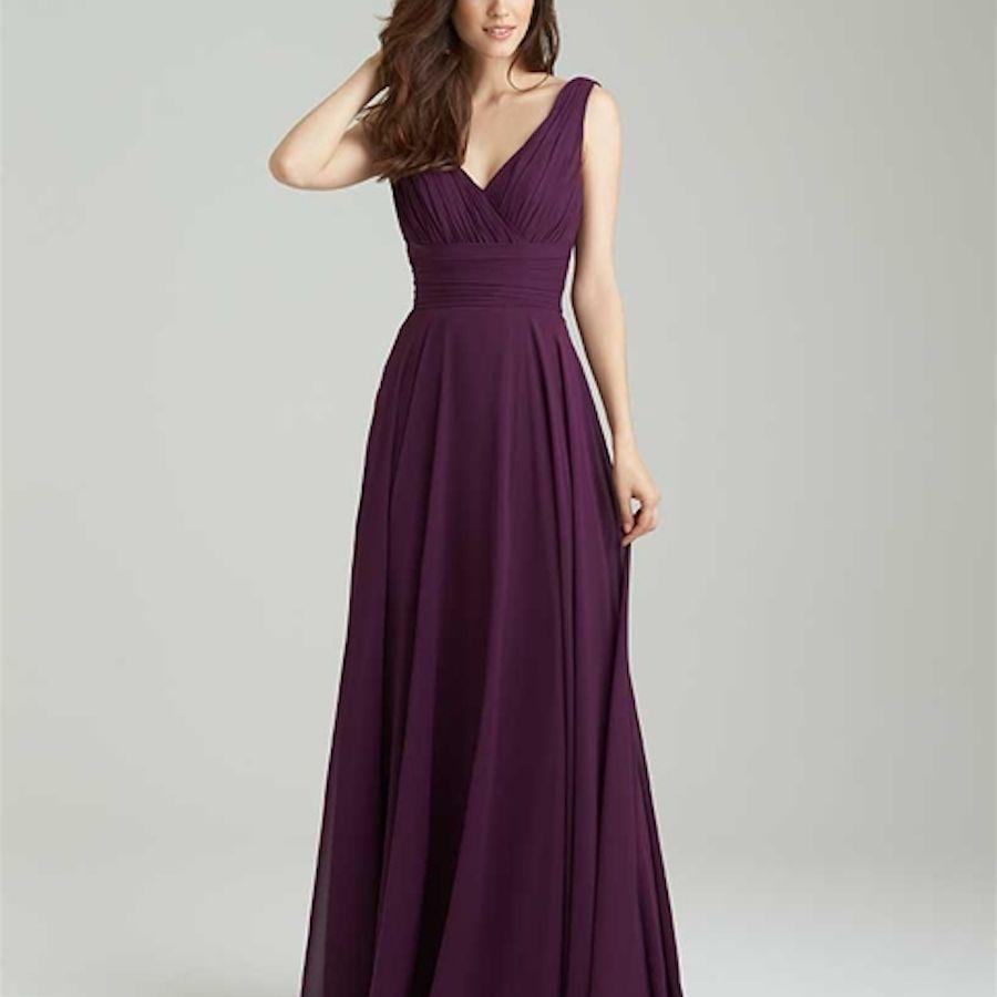 Plum Wedding Dress: 30 Ultra-Stylish Plum Bridesmaid Dresses