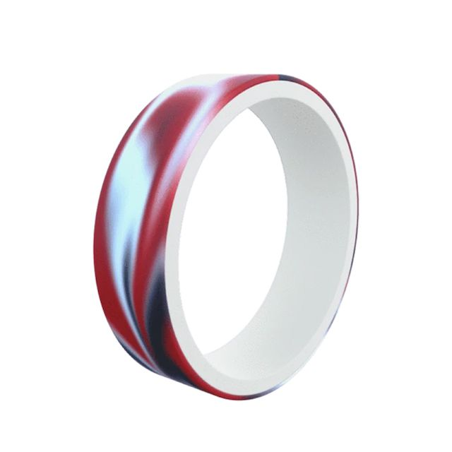 QALO Men's Switch Reversible Silicone Ring
