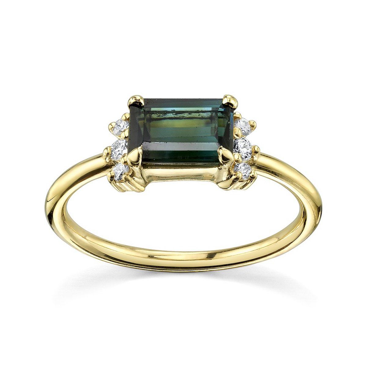 Marrow Looking West Tourmaline Ring
