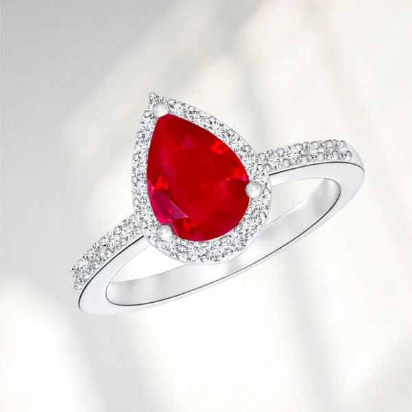 Red Engagement Rings