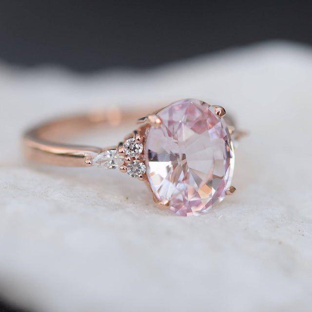 Eidel Precious Blush Sapphire Engagement Ring
