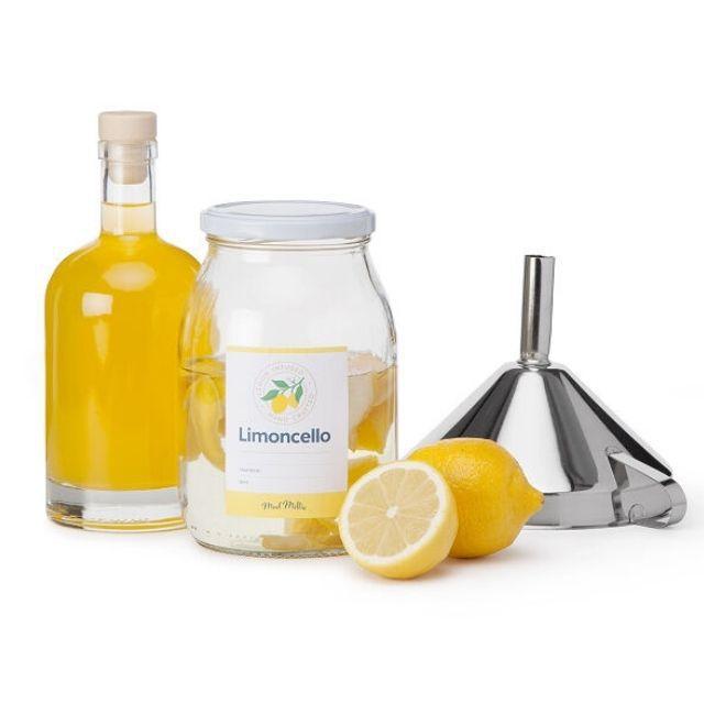 Uncommon Goods Homemade Limoncello Kit