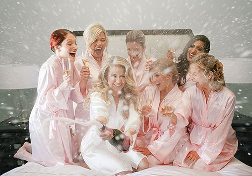 7 Gorgeous Silky Robes To Gift Your Bridal Party