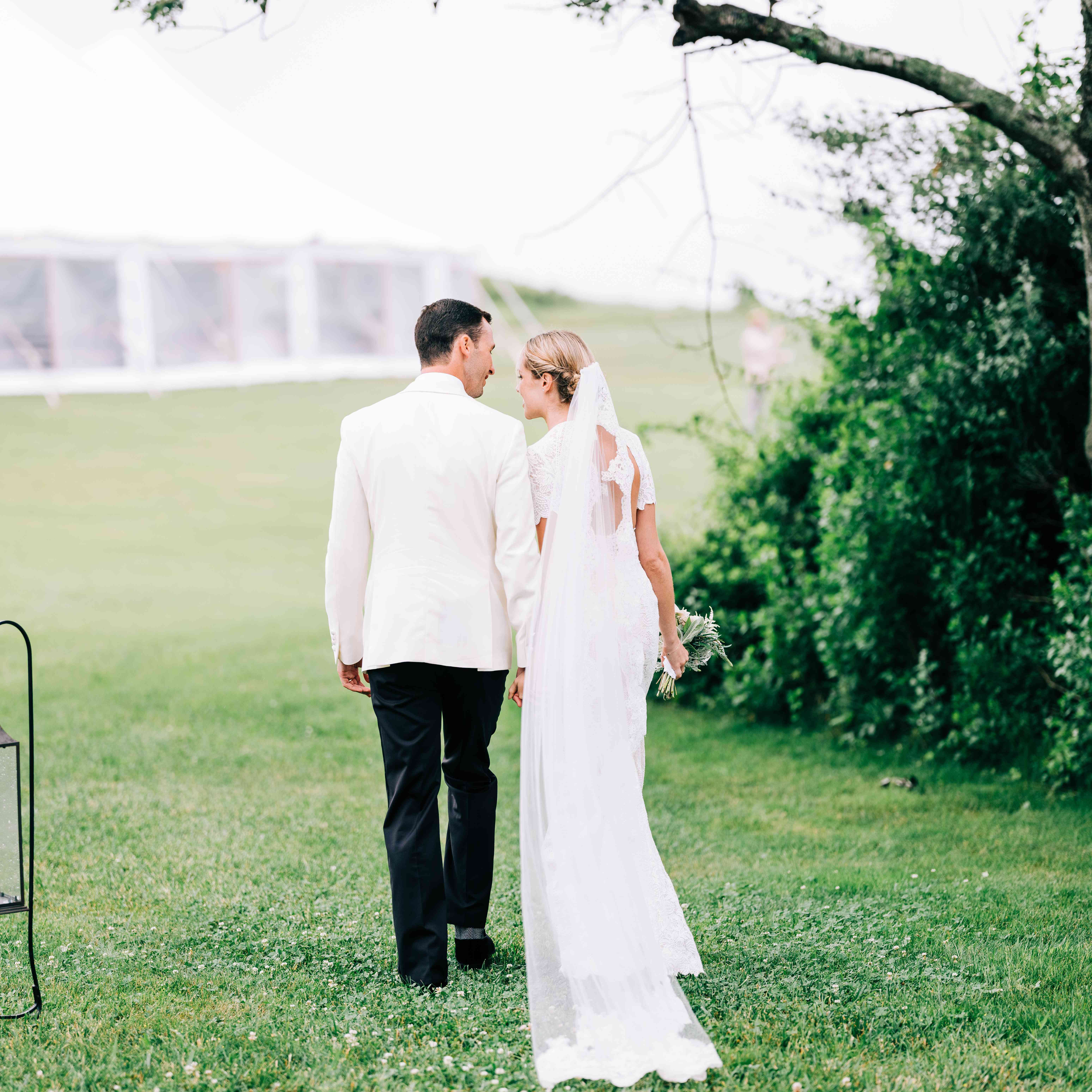 <p>bride and groom in bucolic setting</p><br><br>
