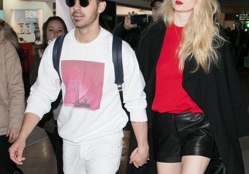 <p>Sophie Turner and Joe Jonas</p>