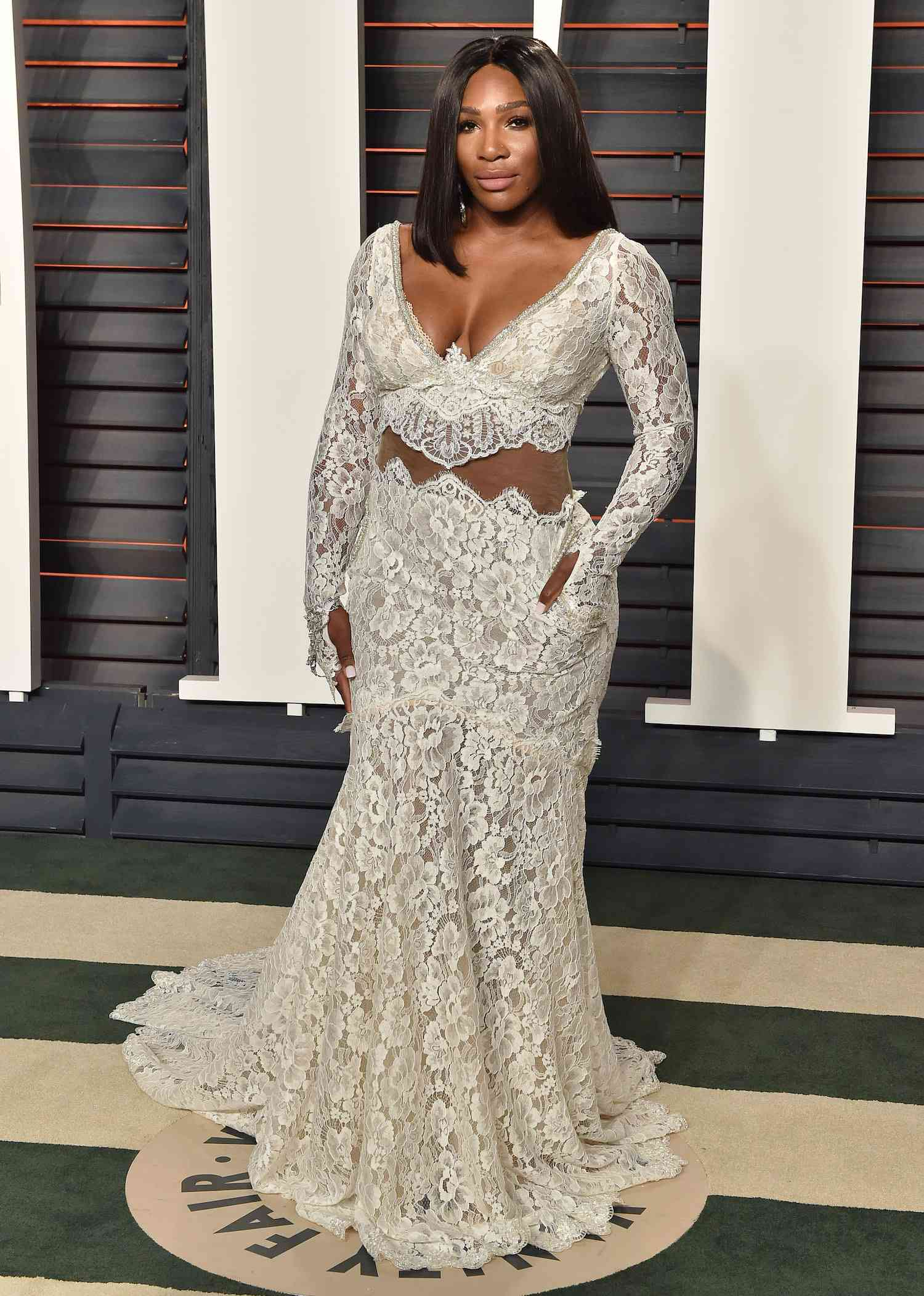 Serena Williams 2016 Vanity Fair Oscars Party