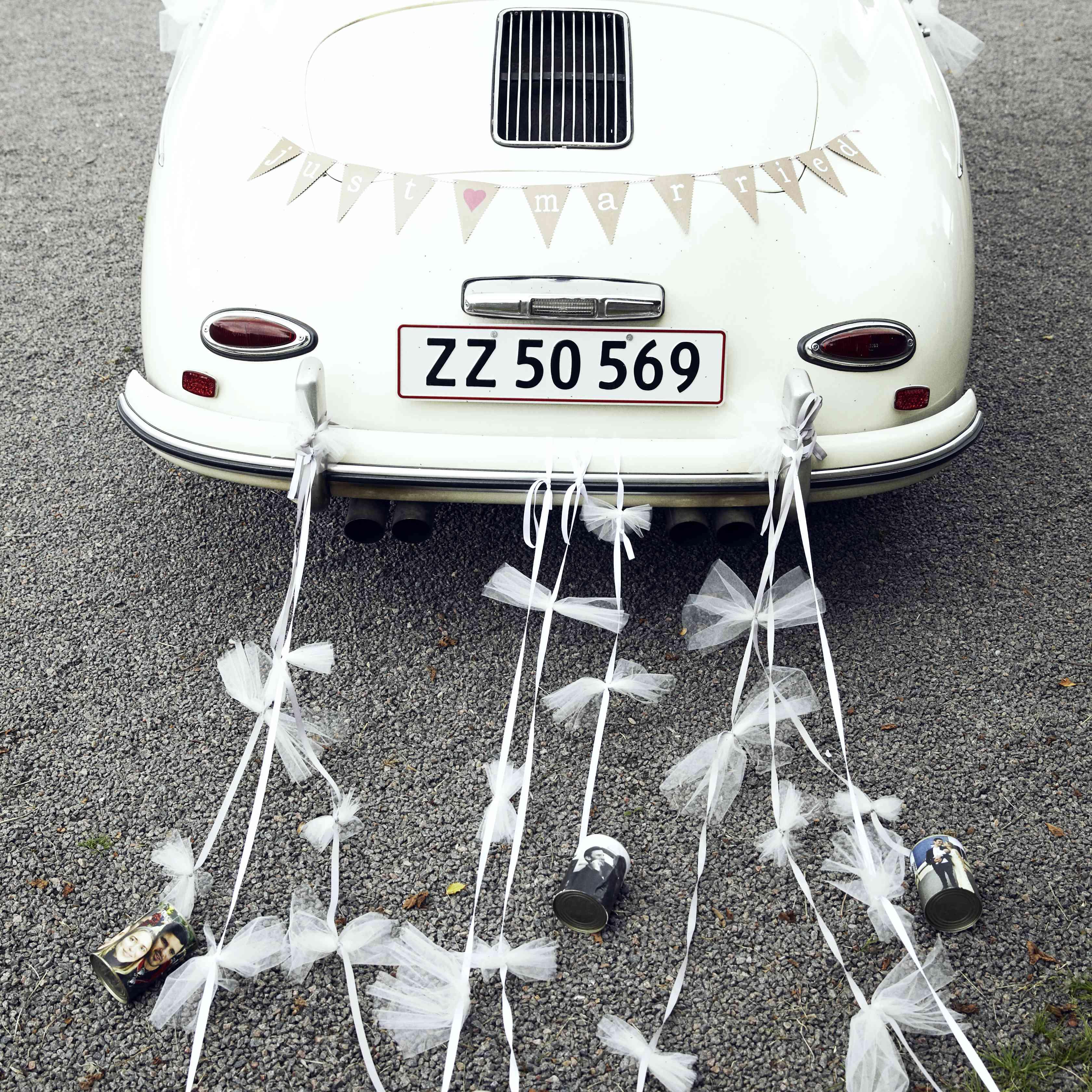 <p>Decorated Getaway Car</p>
