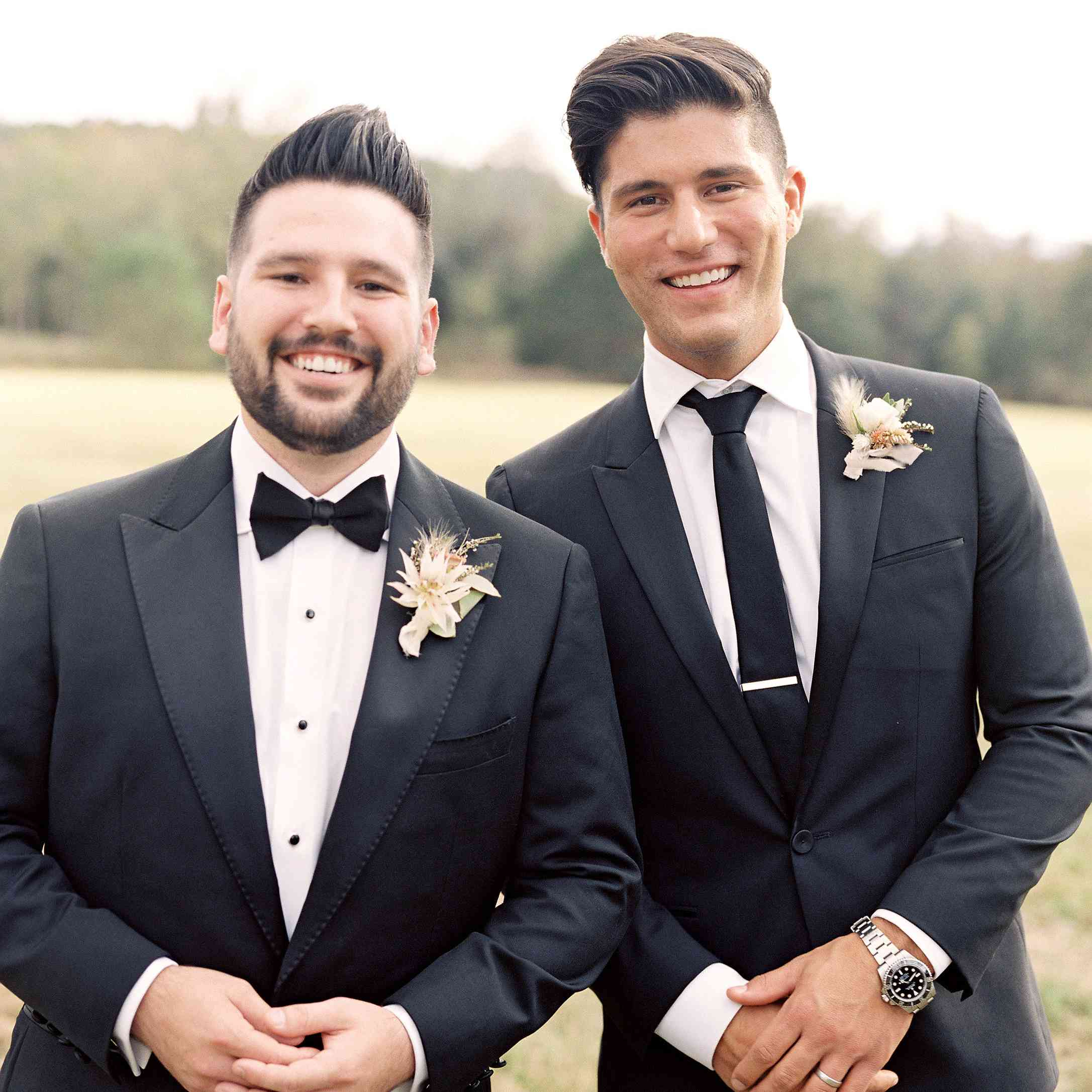 <p>Groom and best man</p><br><br>