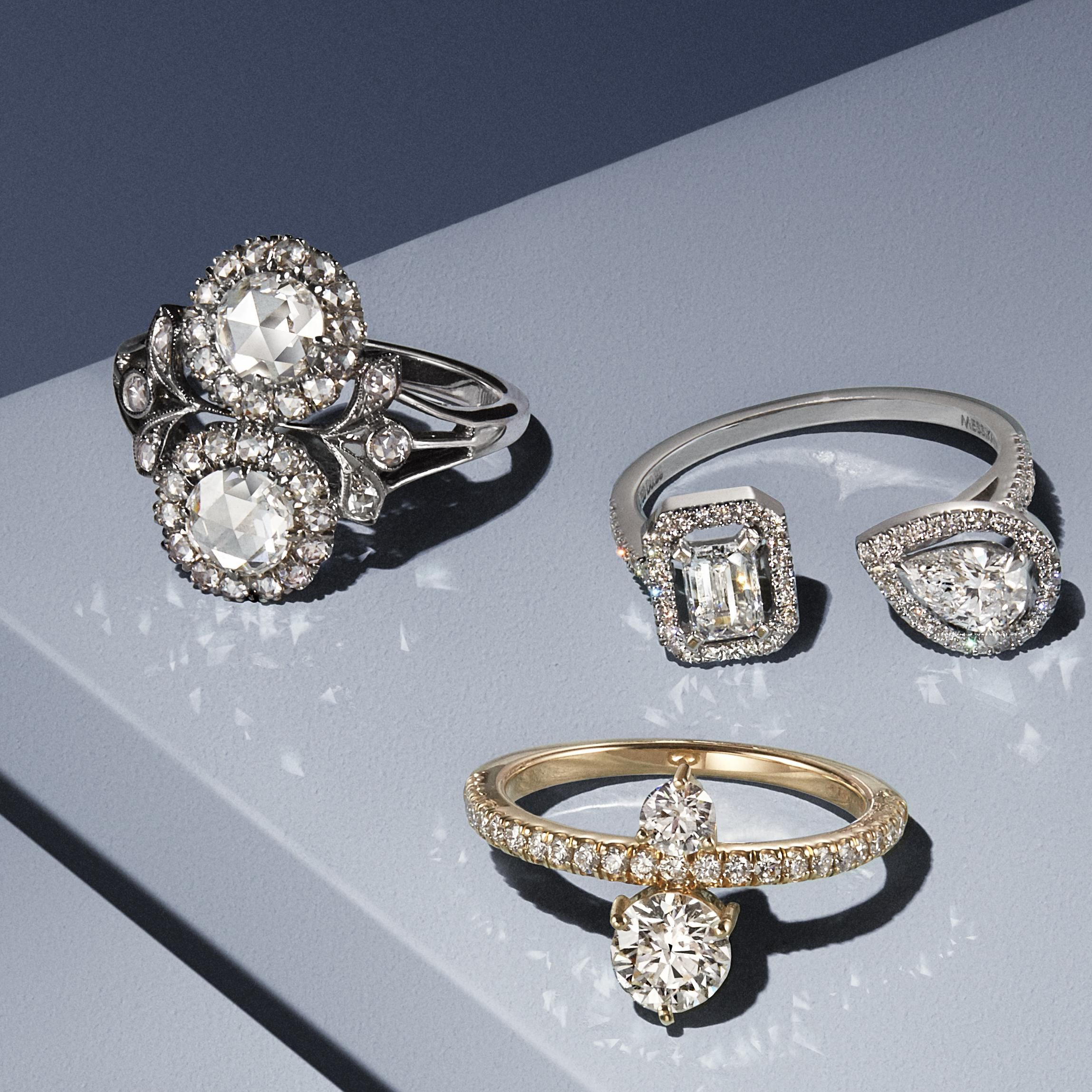 What's to Know About Custom Two Stone Engagement Ring