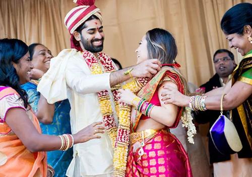 Hindu engagement ceremony
