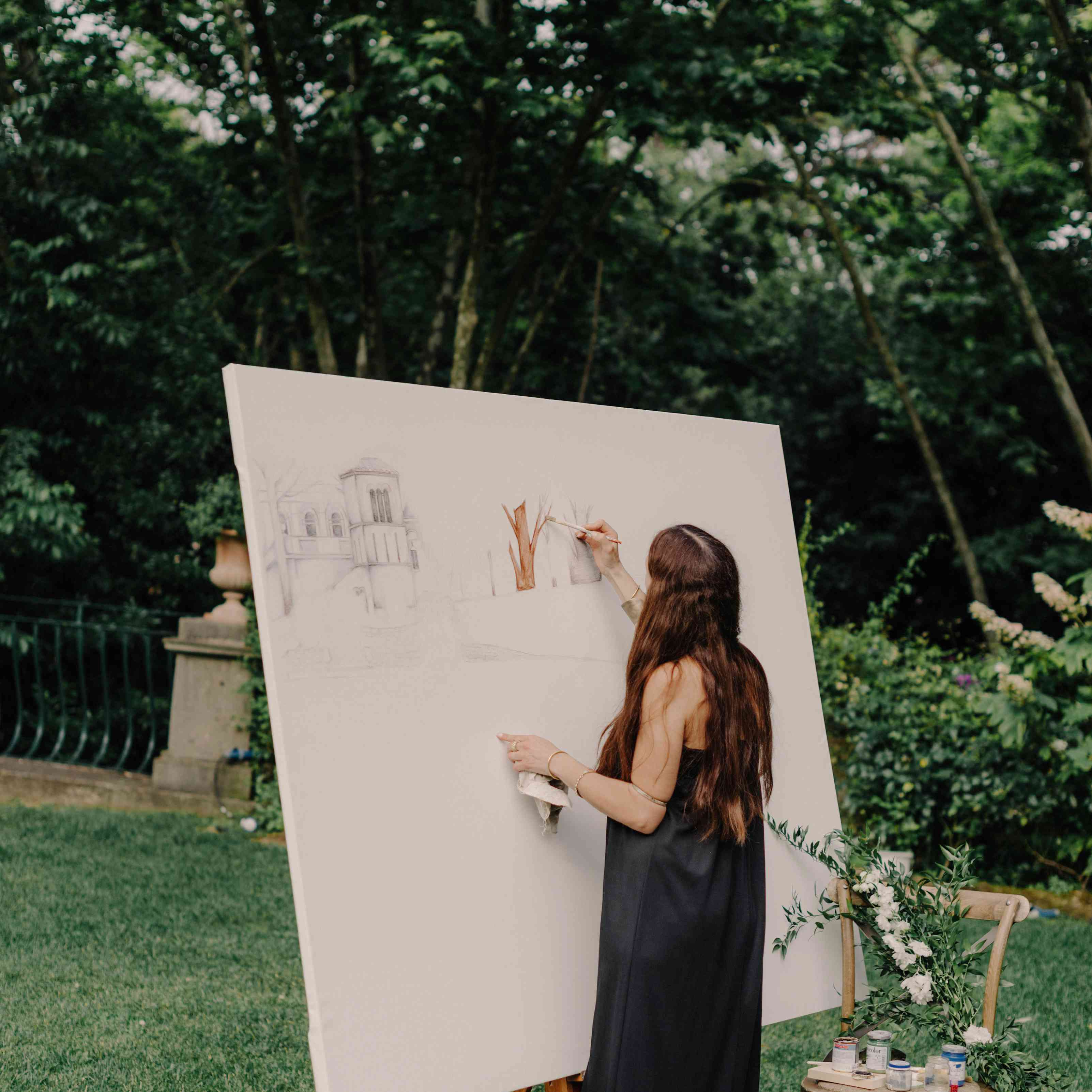 Artist Live Painting