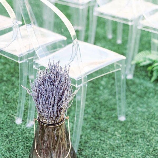 Hints of lavender decor