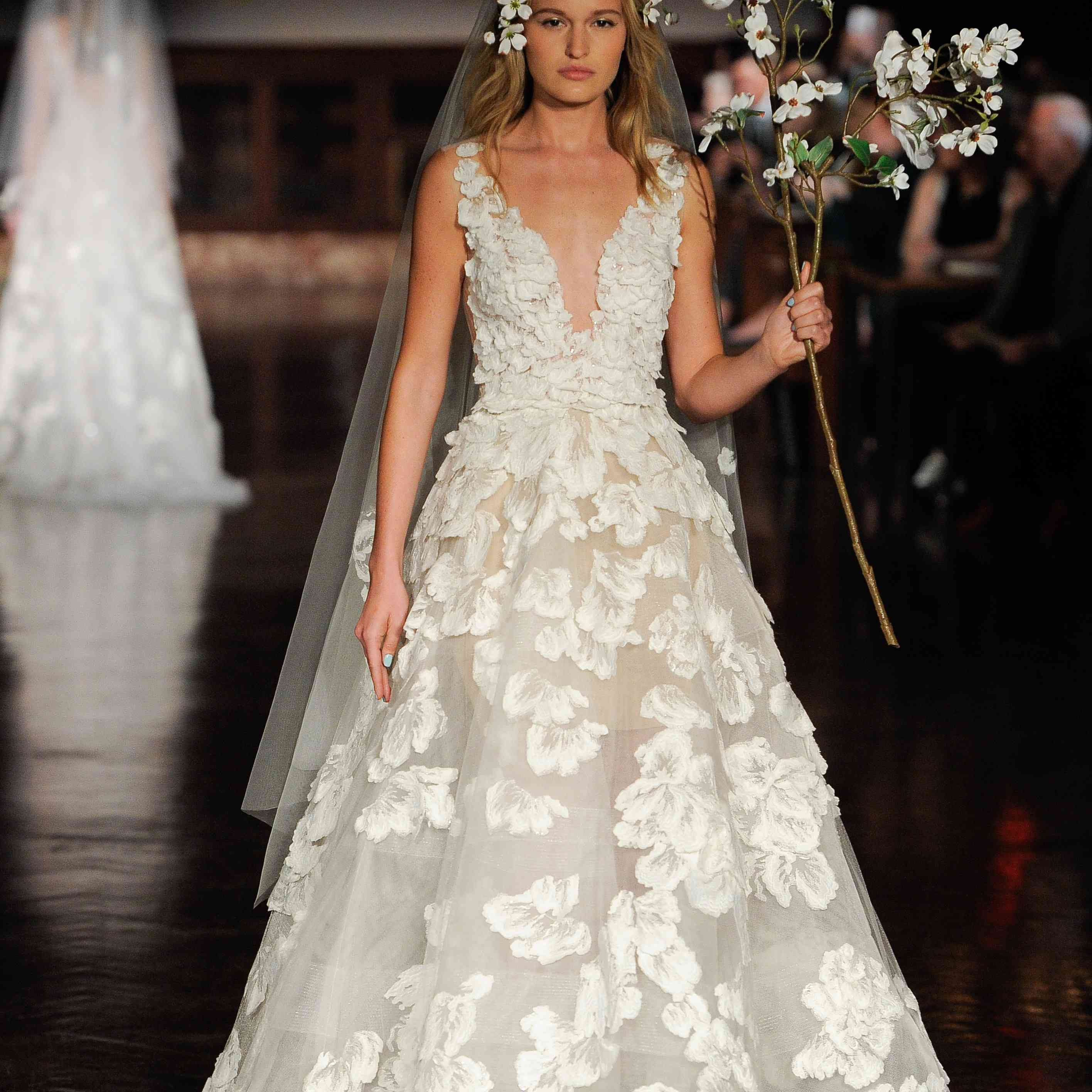 1869ef2b6c The Only Wedding Dress Trends 2019 Brides Need to Know