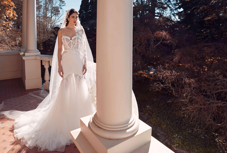 Sadie mermaid wedding dress