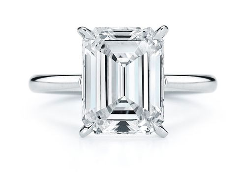 Emerald Cut Engagement Rings For Glam Boho And Classic Brides