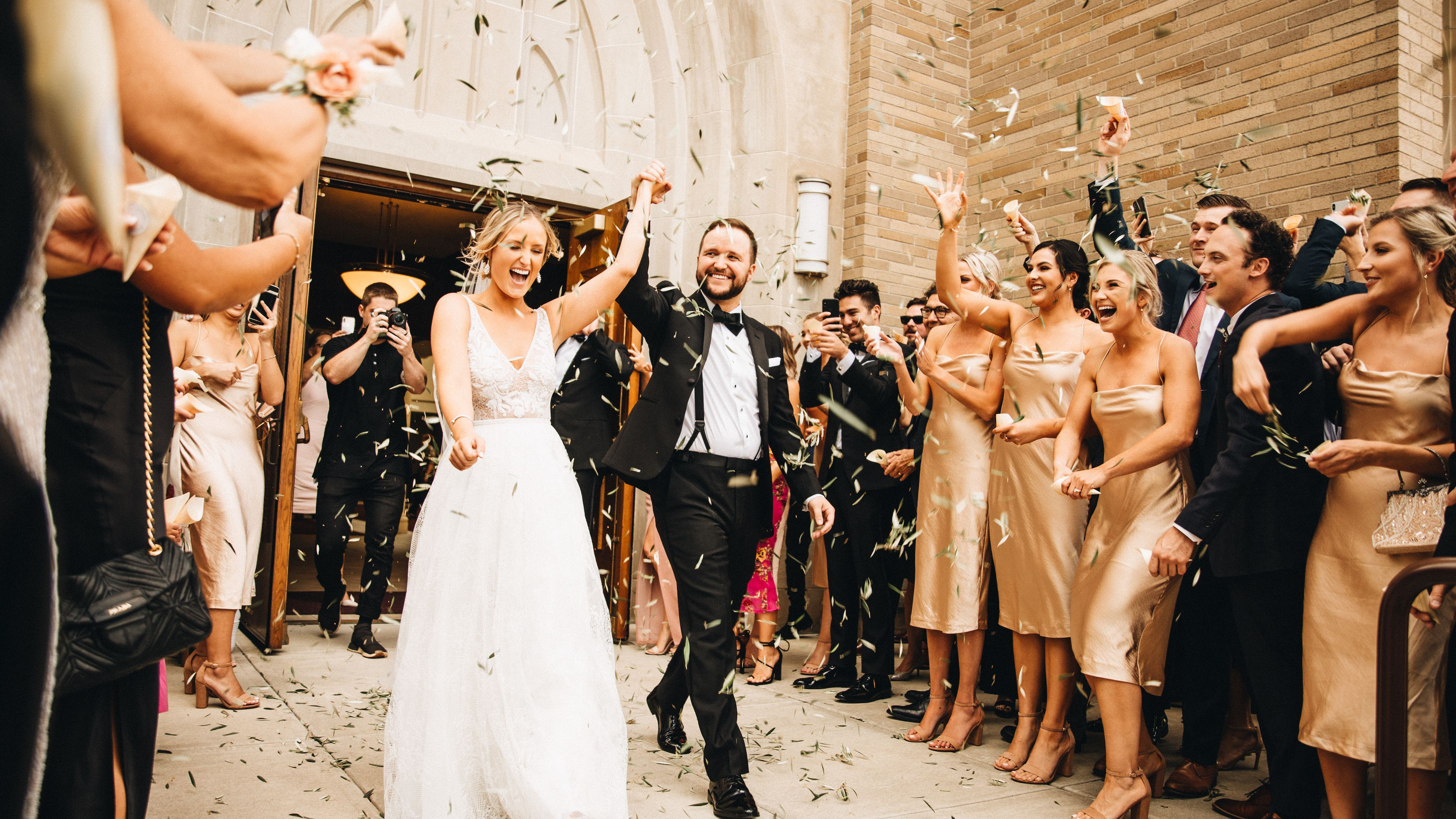 Musician Quinn Xcii And Macy Uekert S Vintage Inspired Wedding In Michigan,Sophia Tolli Plus Size Wedding Dresses