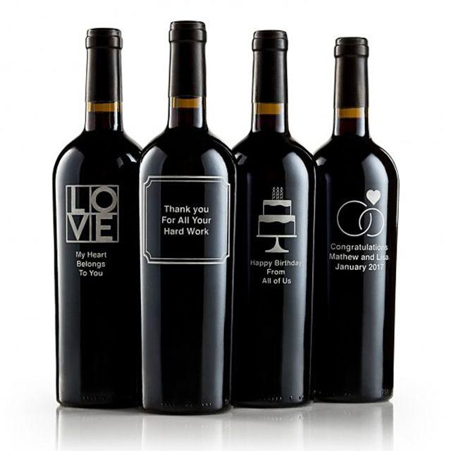 Gift Tree Personalized Wine Bottle