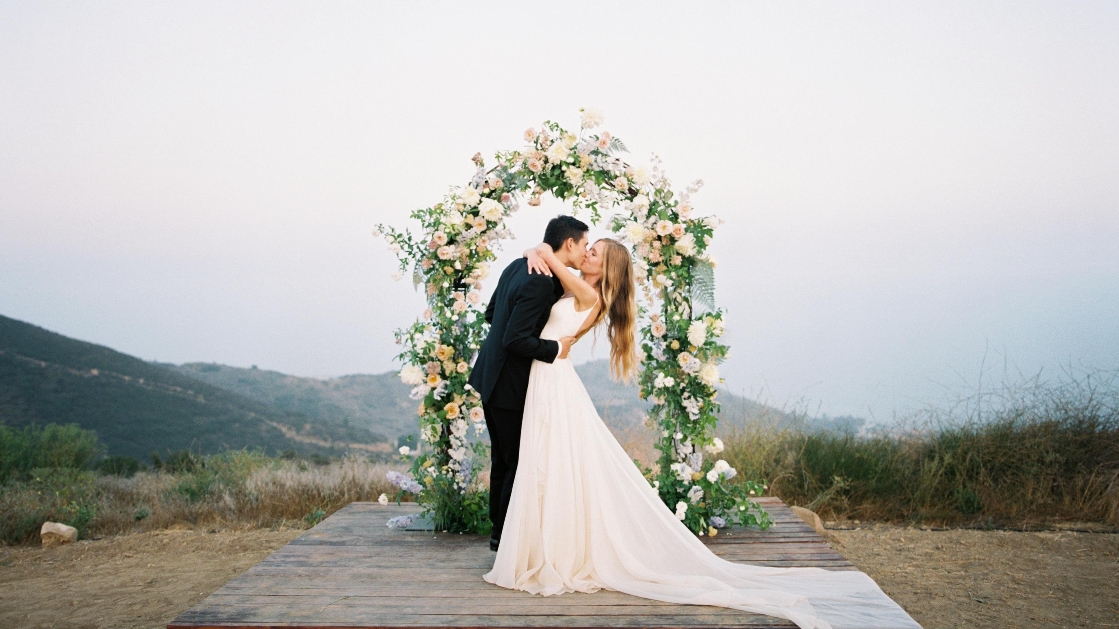 A Magical Malibu Wedding Overlooking The Pacific Ocean