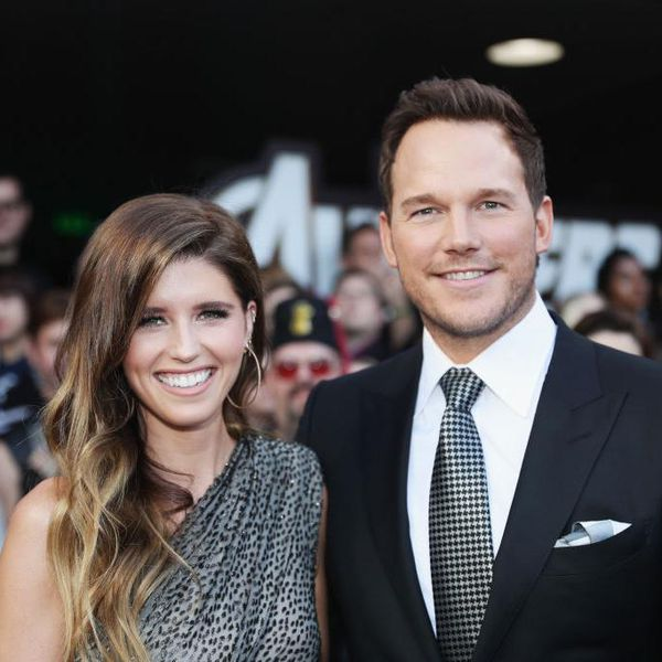 Katherine Schwarzenegger and Chris Pratt attend the Los Angeles World Premiere of Marvel Studios'