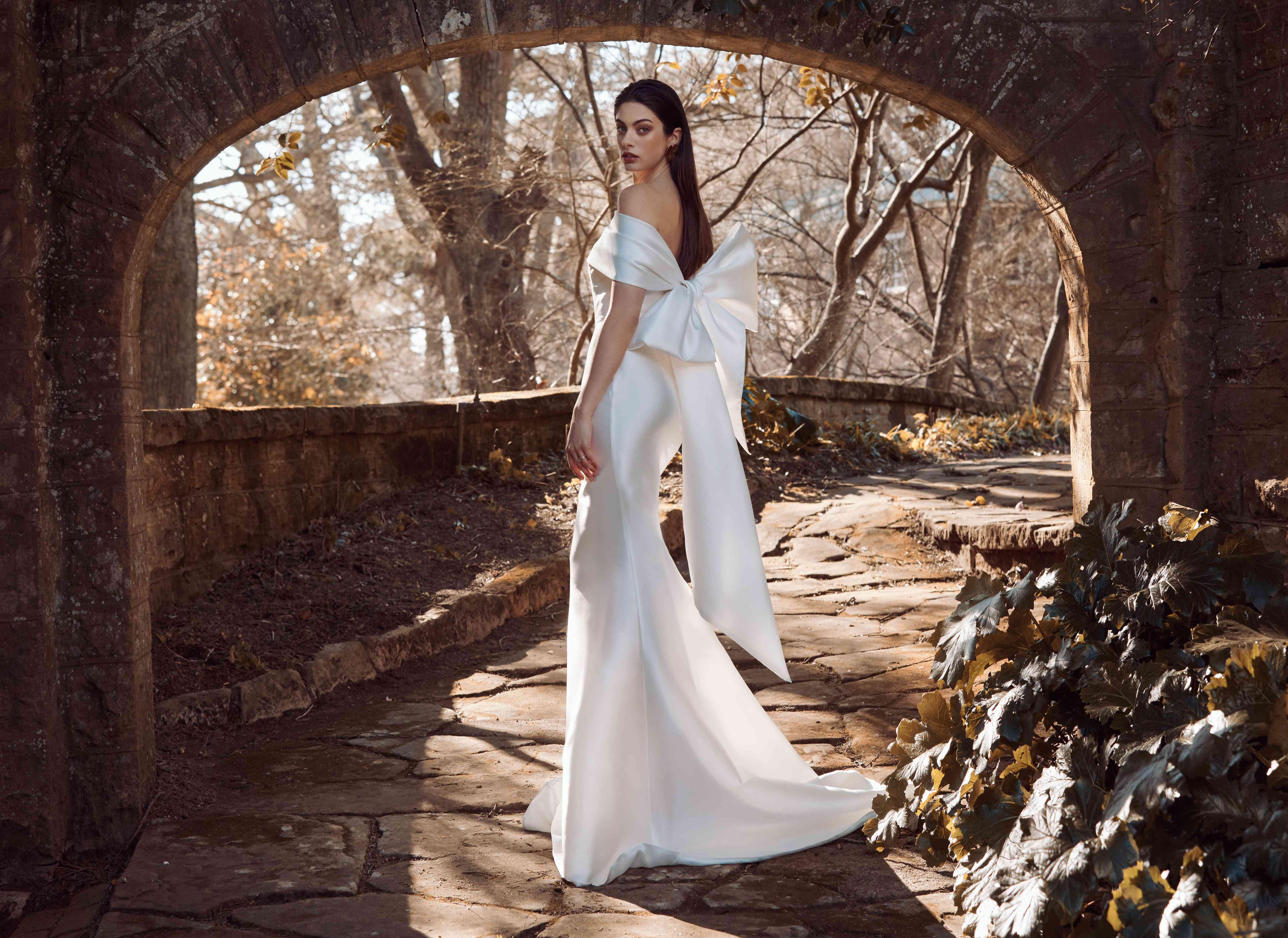 Odette silk mermaid wedding dress