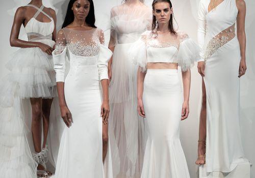 Rime Arodaky Bridal Fall 2019 Group Photo