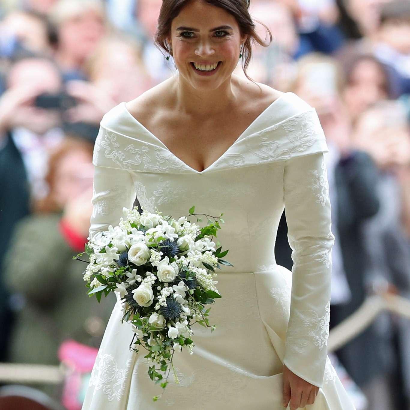 Princess Eugenie's Dipped Back Wedding Dress