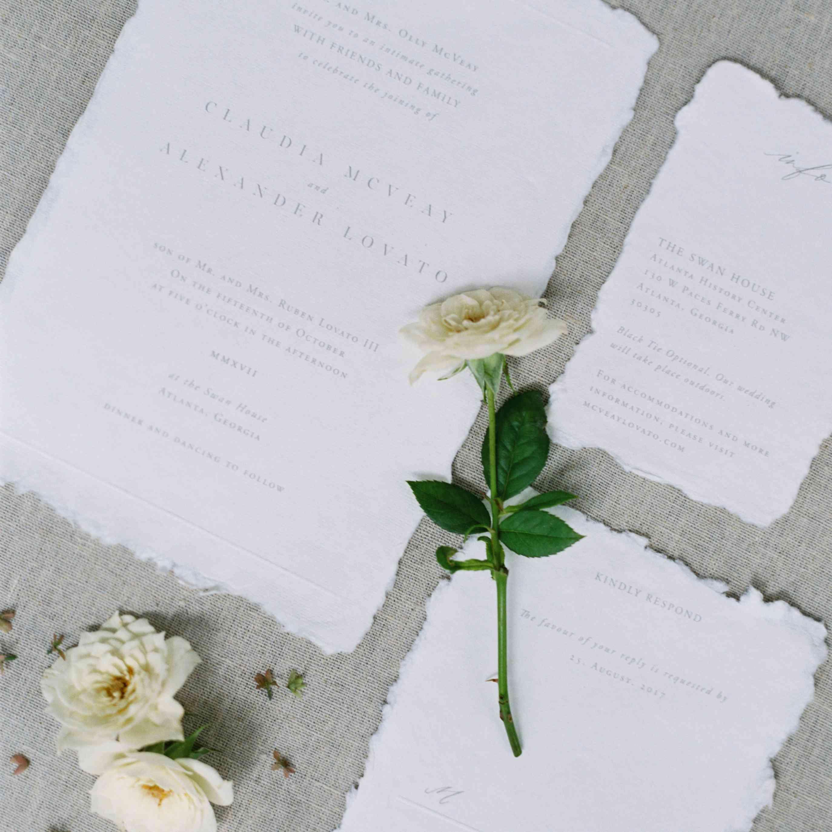 garden invitation