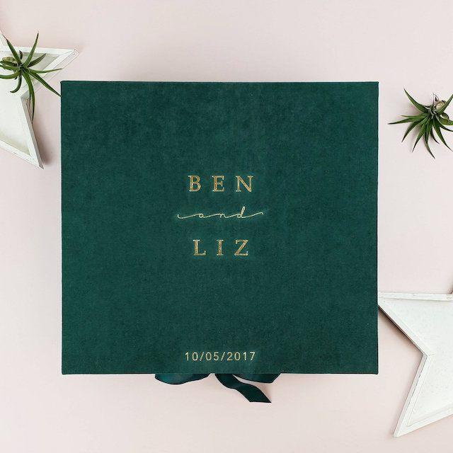 Personalized Luxury Wedding Box