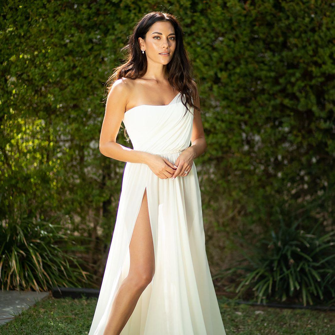 Inbar Lavi wedding dress